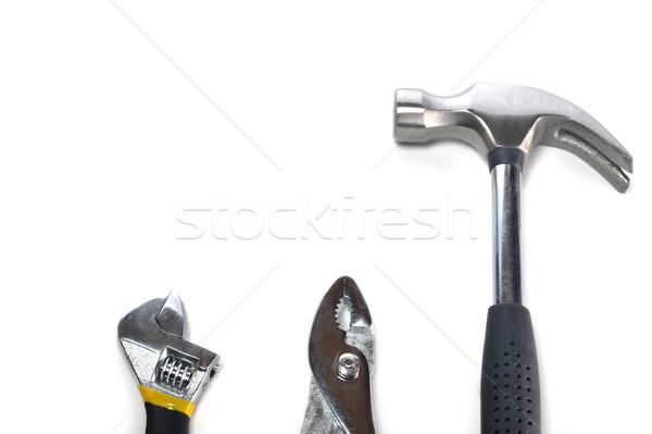 異なる ツール 多くの 白 作業 デザイン ストックフォト © taden