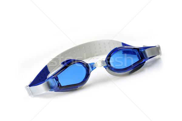 blue swim goggles Stock photo © taden