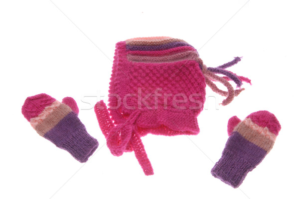 wool hat and gloves Stock photo © taden