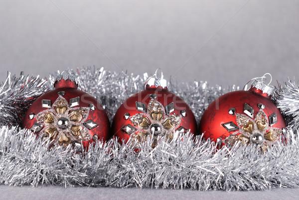 Christmas balls Stock photo © taden