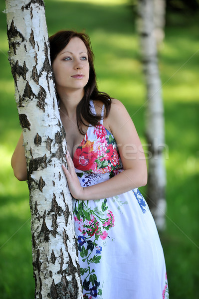 beautiful  woman Stock photo © taden