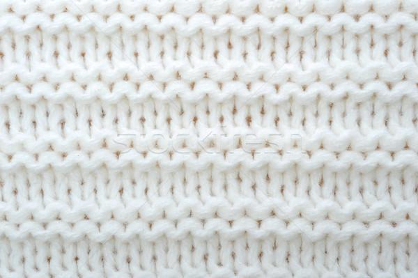 Wełny sweter tekstury streszczenie tle Zdjęcia stock © taden