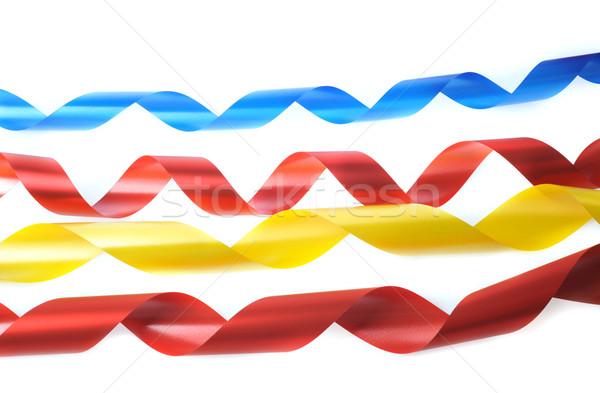 color ribbons Stock photo © taden