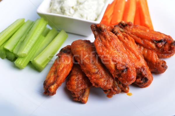 chicken wings Stock photo © taden