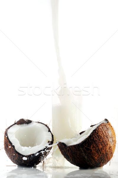 coconut juice pour Stock photo © taden