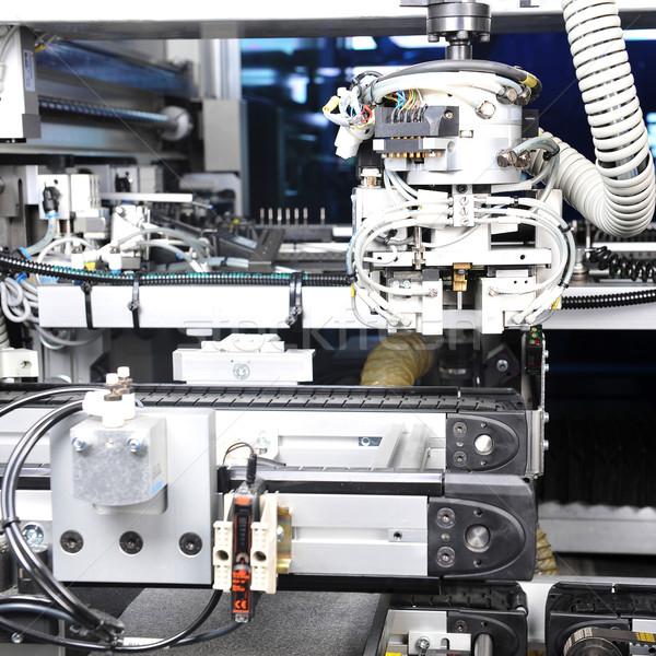 parts modern machine Stock photo © taden