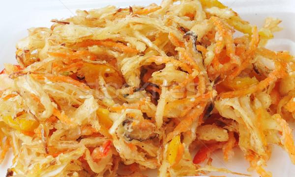 deep fried vegetables Stock photo © taden