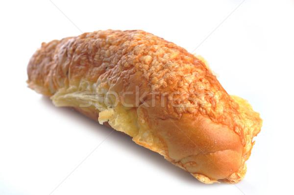 Vers gebakken brood voedsel koffie Stockfoto © taden