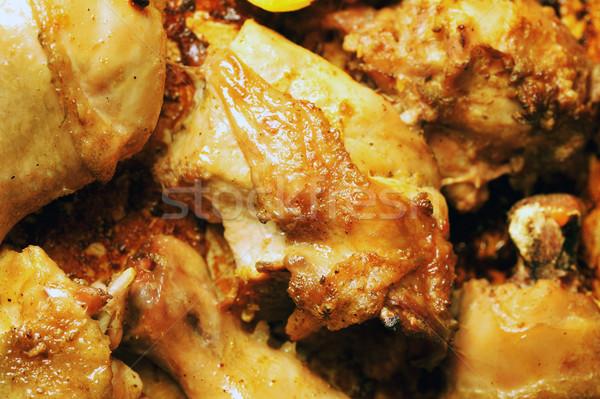 roast chicken Stock photo © taden