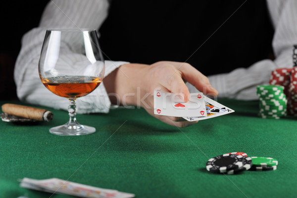 Stock photo: Card play
