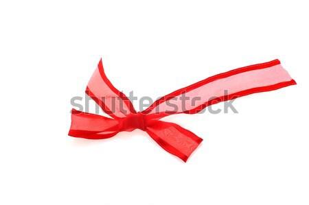 赤 弓 美しい 白 冬 色 ストックフォト © taden