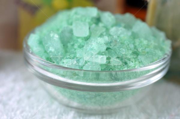 Green sea salt Stock photo © taden