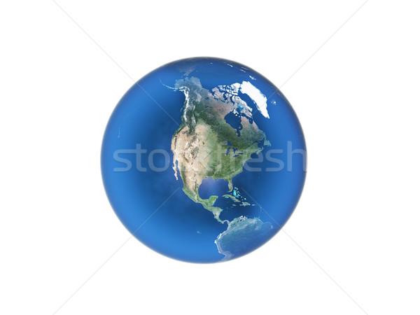 blue  planet earth  Stock photo © taden