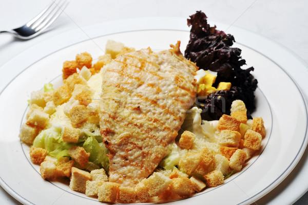 Fried chicken fillet Stock photo © taden