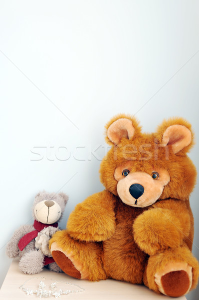 two bear toys Stock photo © taden