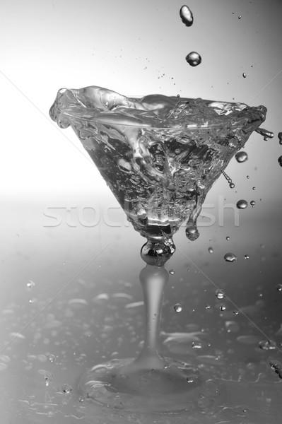 Сток-фото: воды · стекла · холодно · прозрачный · коктейль