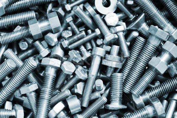 bolts  in box Stock photo © taden