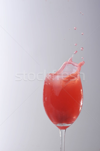 red liquid in glass Stock photo © taden