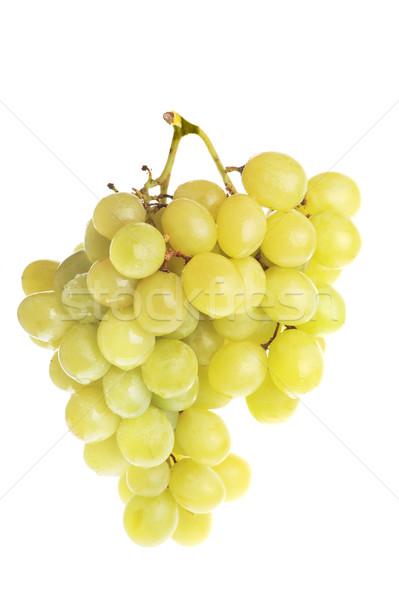 fresh and tasty green grapes Stock photo © taden