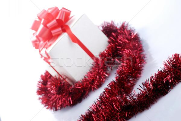 Рождества настоящее фон звездой фары Сток-фото © taden