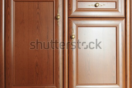 brown  cupboard Stock photo © taden