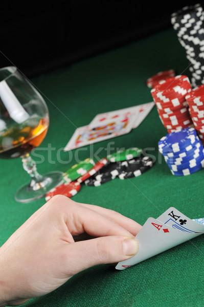 Stock photo: Card play