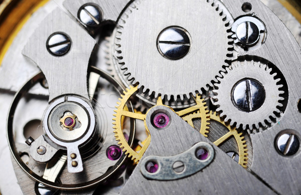 watch gears close up Stock photo © taden