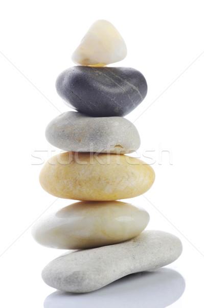 Pile of stones Stock photo © taden