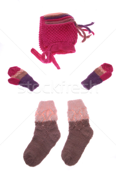 wool hat, gloves and socks Stock photo © taden