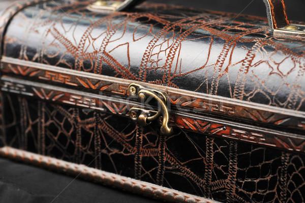 leather case Stock photo © taden