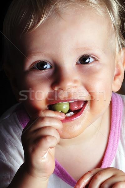 boy with lollipop Stock photo © taden