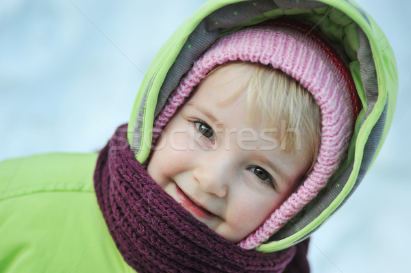 Happy child Stock photo © taden
