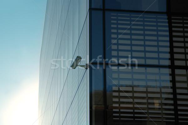 big glass office building  Stock photo © taden