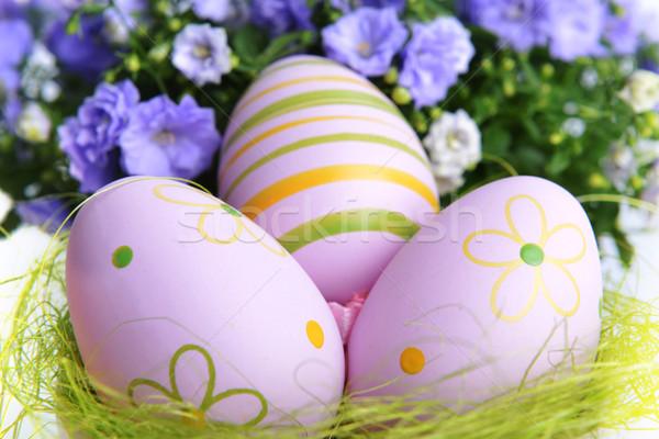 easter eggs Stock photo © taden