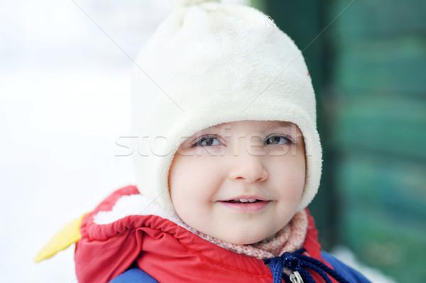 女の子 冬 赤ちゃん 自然 美 女の子 ストックフォト © taden