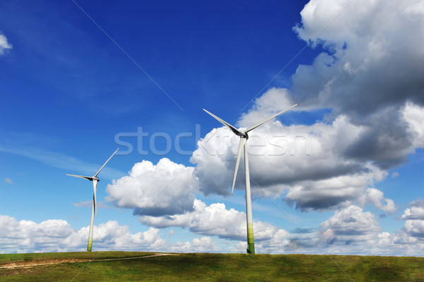 wind turbines Stock photo © taden