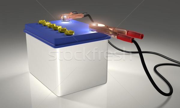 Car Battery Stock photo © TaiChesco