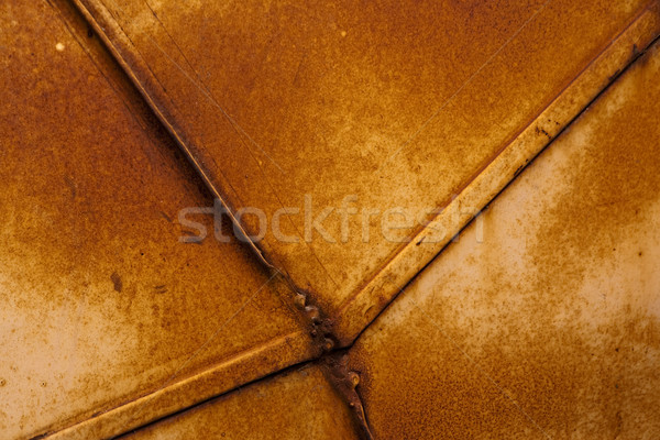 Superficie de metal grunge Rusty pared resumen color Foto stock © Taiga