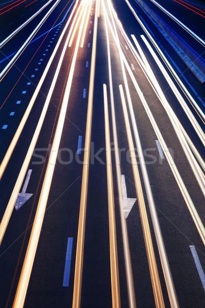 抽象的な 本当の トラフィック 道路 高い ストックフォト © Taiga