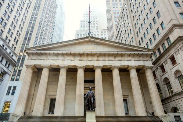 Wall Street Manhattan New York federal salon Stok fotoğraf © Taiga