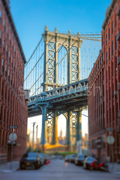 Manhattan Bridge, New York, USA Stock photo © Taiga