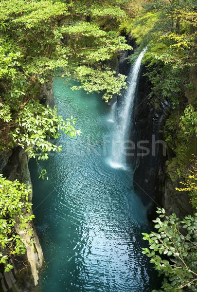 beautiful waterfall Stock photo © Taiga