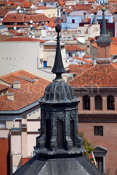 Madrid Espagne dôme toits ville Photo stock © Taiga