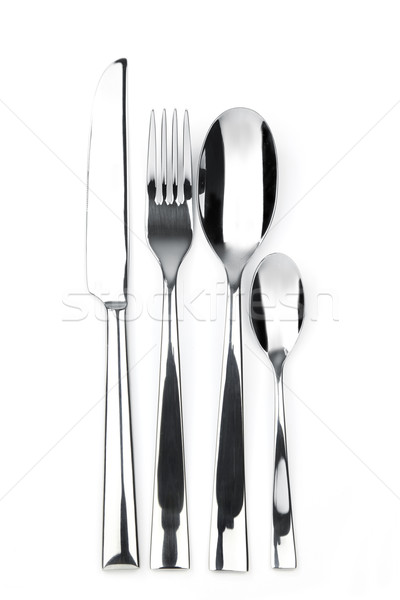 knife, fork, spoon and teaspoon Stock photo © Taiga