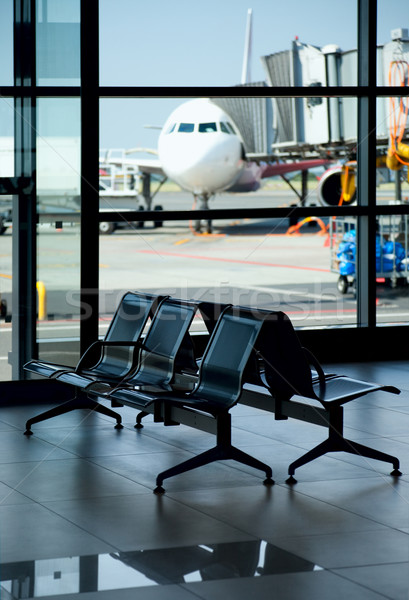 Airport / Empty Terminal / Waiting Area Stock photo © Taiga