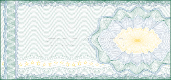 Background for Voucher, Gift Certificate, Coupon or Banknote /  Stock photo © Taiga