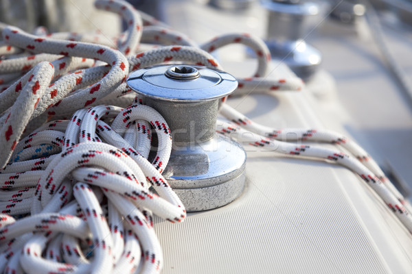 Sail Boat Winch / yachting Stock photo © Taiga