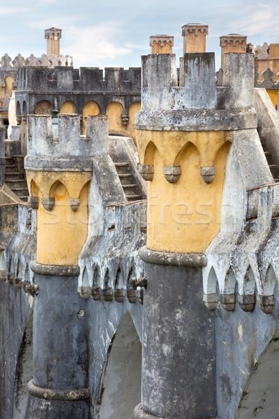 Palácio da Pena / Sintra, Lisbon / Portugal /  Detail Stock photo © Taiga