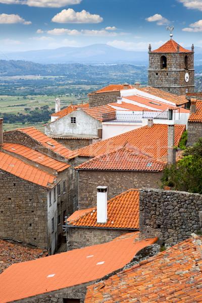 European small town / Monsanto / Portugal Stock photo © Taiga