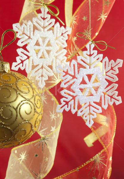 Crăciun decoratiuni arc iarnă bilă stea Imagine de stoc © Taiga